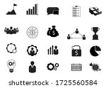 business icons set. icons for... | Shutterstock .eps vector #1725560584
