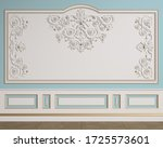 Classic Interior Wall With...