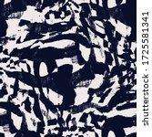 vector bleached tie dye. indigo ... | Shutterstock .eps vector #1725581341