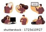 read news  watch news home ... | Shutterstock .eps vector #1725610927