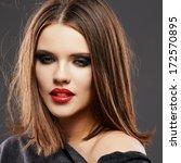 hair style model studio... | Shutterstock . vector #172570895