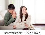 image of young man begging his... | Shutterstock . vector #172574675
