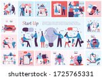 vector illustration of concept... | Shutterstock .eps vector #1725765331