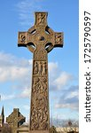 Traditional Celtic Cross At Th...