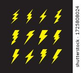 Vector Graphic Of Flat Thunder...