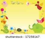 abstract frame for kid ... | Shutterstock .eps vector #17258167