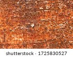 Peel Paint And Rust On Old Metal