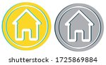 home button house homepage icon ... | Shutterstock .eps vector #1725869884