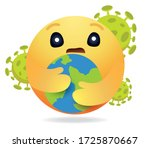 high quality emoticon.care... | Shutterstock .eps vector #1725870667