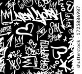 Vector Graffity Tags Seamless...