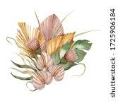 Watercolor Boho Bouquet Of...
