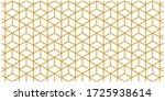cube geomatric pattren gold... | Shutterstock .eps vector #1725938614