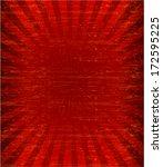grunge sunburst pattren... | Shutterstock .eps vector #172595225