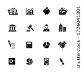 business   finance icons   ... | Shutterstock .eps vector #1726041301