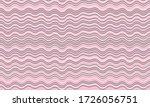 vintage wavy stripes background.... | Shutterstock .eps vector #1726056751