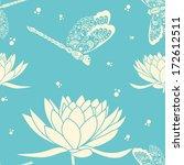 Vector Flower Seamless Pattern...