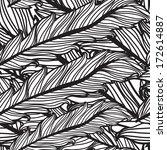 elegant seamless pattern with... | Shutterstock .eps vector #172614887