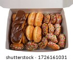 Large Box With Various Donuts....