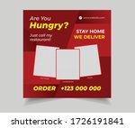 editable social media post for...   Shutterstock .eps vector #1726191841