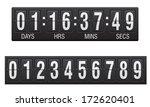 scoreboard countdown timer... | Shutterstock .eps vector #172620401