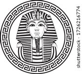 king tut  little egyptian king... | Shutterstock .eps vector #1726216774