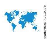 world map  | Shutterstock . vector #172623941