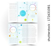 brochure design template... | Shutterstock .eps vector #172631081