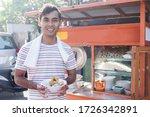 Meatball Street Food Vendor....