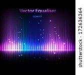 equalizer background | Shutterstock .eps vector #172636364