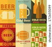 Beer Retro Posters Collection...