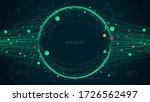 digital big data visualization... | Shutterstock .eps vector #1726562497