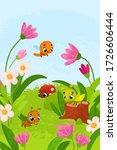vector illustration with... | Shutterstock .eps vector #1726606444