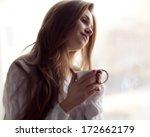 Woman Drinking Coffee   Soft...
