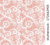 lace seamless pattern with... | Shutterstock .eps vector #172662905