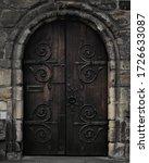 The Door Of Hexham Abbey  A...