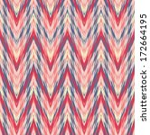 abstract ethnic seamless fabric ... | Shutterstock .eps vector #172664195