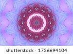 Beautiful Mandala. Abstract...