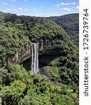 Waterfall In Canela Rio Grande...