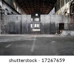 abandoned factory industrial... | Shutterstock . vector #17267659