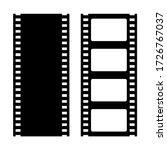 film strip vector retro icons... | Shutterstock .eps vector #1726767037