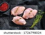 Raw Boneless Chicken Thighs...