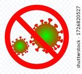 antiviral antibacterial... | Shutterstock .eps vector #1726820527