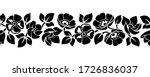 vector horizontal seamless...   Shutterstock .eps vector #1726836037