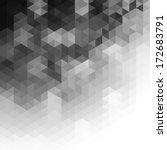 triangular pattern background  | Shutterstock .eps vector #172683791