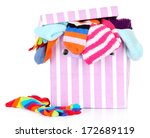 textile box with different... | Shutterstock . vector #172689119