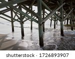 The Underneath Part Of A Pier...