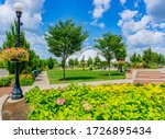 Five Rivers Metropark is in the downtown district of Dayton, Ohio and has a wonderful dome center and surrounding garden.