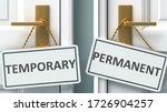 Temporary Or Permanent As A...