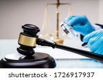 Small photo of Lawyers Inspecting Legal Regulations. Scrutiny And Arbitration