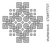 vector illustration of a viking ...   Shutterstock .eps vector #1726977727